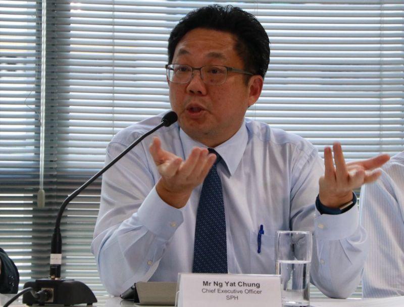 SPH CEO Ng Yat Chung