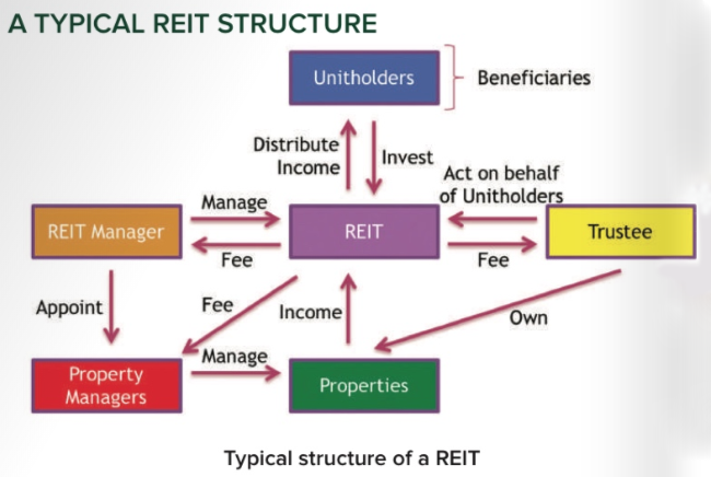 Image result for reit structure